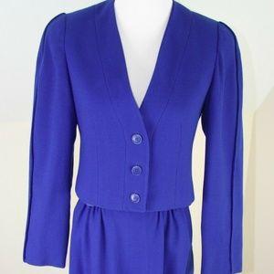 Herbert Grossman Petite Vintage Skirt suit Size 6